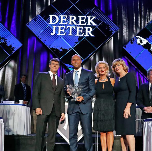 2017 New York Yankees Homecoming Dinner, Derek Jeter, The Steinbrenner Family, Pride of the Yankees