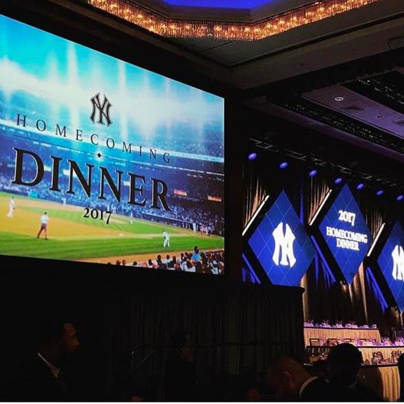 New York Yankees Homecoming Dinner