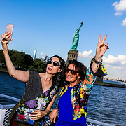 Diane von Furstenberg, Summer Solstice Event on Liberty Island