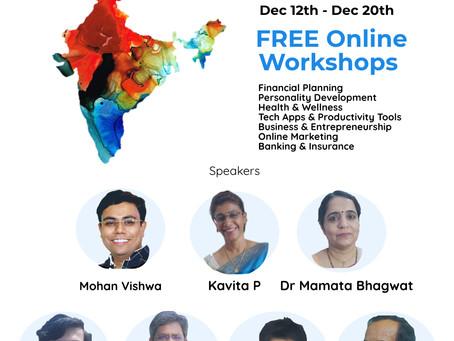 ATMANIRBHAR KALAKAAR - Free Workshops for Artists