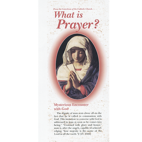 1229 What is Prayer? (pamphlet)