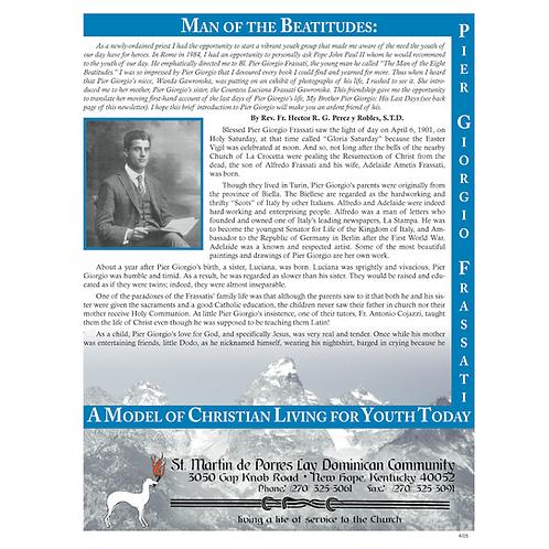 Man of the Beatitudes (newsletter) #1512