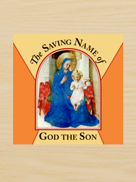 The Saving Name of God the Son (Book 1 of Series)
