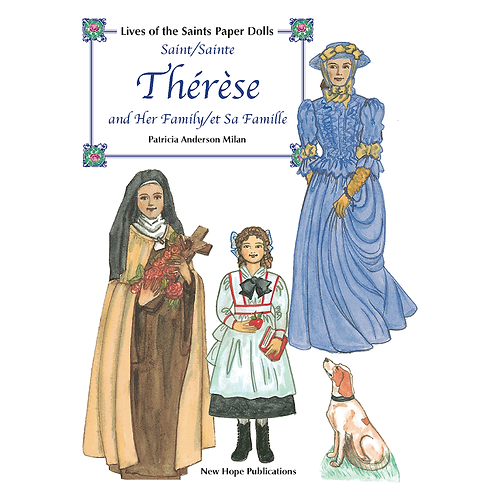 B2400 St. Therese and Her Family Paper Dolls