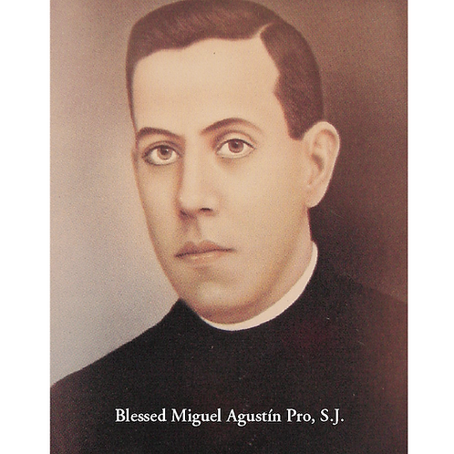 Blessed Miguel Pro Prayer Card
