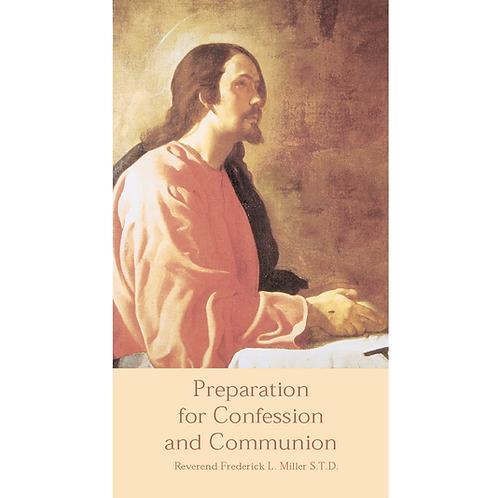 B3016 Preparation for Confession & Communion (Booklet)