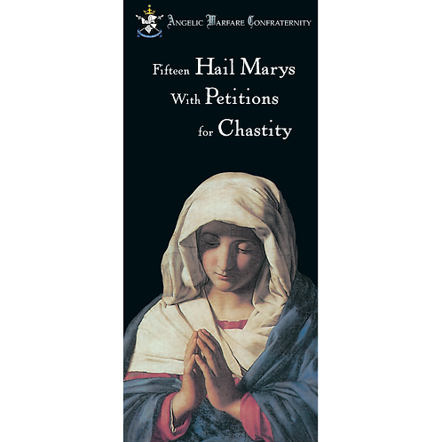 Fifteen Hail Marys/Petitions for Chastity (pamphlet)