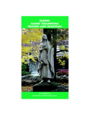 3084 Bl Kateri Tekakwitha Prayers (Booklet)