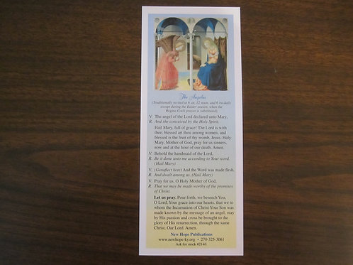 2140 The Angelus Bookmark