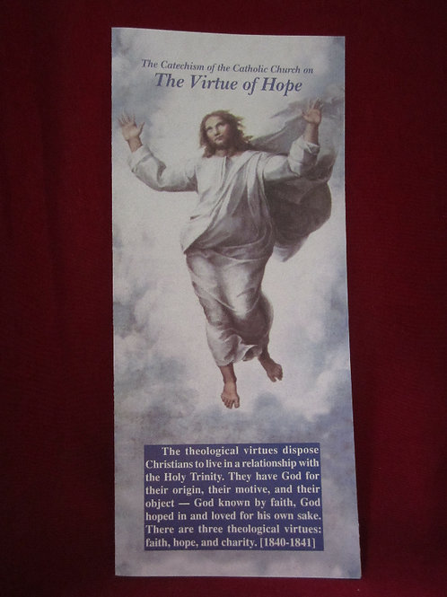 1214 The Virtue of Hope (pamphlet)
