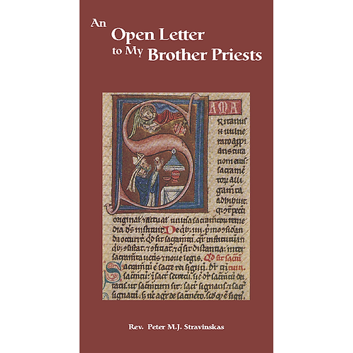 B3229 An Open Letter to My Brother Priests (booklet)