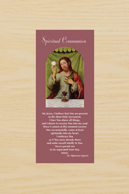 Spiritual Communion (pamphlet)