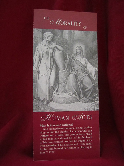 1241 The Morality of Human Acts (pamphlet)