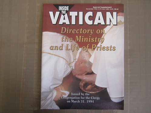 Directory on the Ministry & Life of Priests #3024