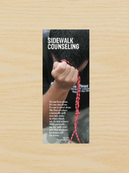 0391 Sidewalk Counseling (Pamphlet)