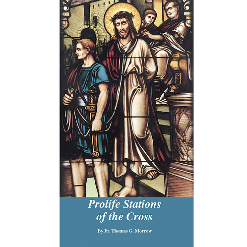 B0135 Prolife Stations of the Cross (Booklet)