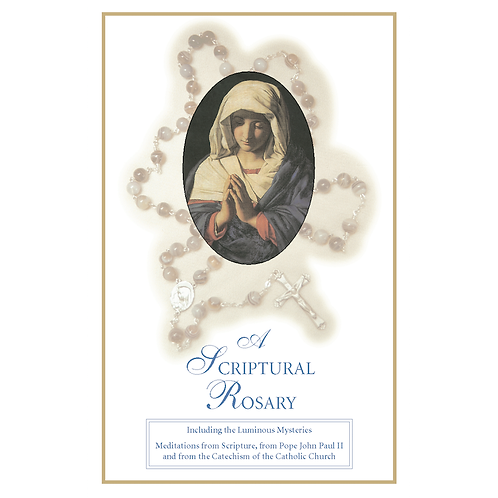 3085 A Scriptural Rosary (Booklet)