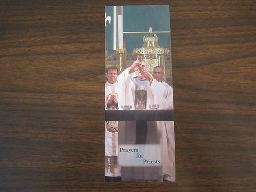 2136 Prayers for Priests Before Celebrating Mass Bookmark