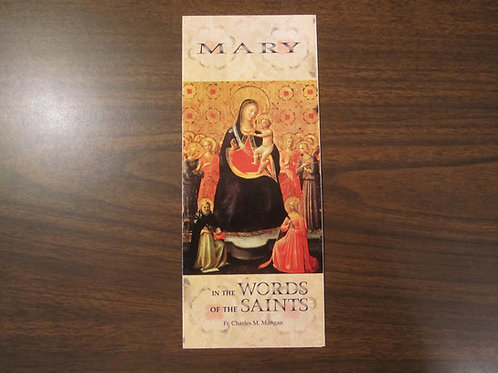 4011 Mary in the Words of the Saints (Pmphlt)
