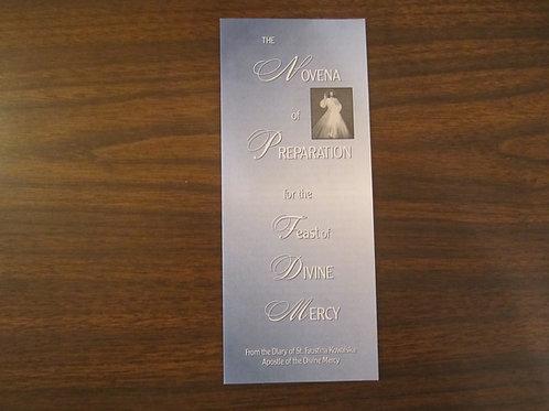 #4015 Novena ... Feast of Div. Mercy (Pamphlet)