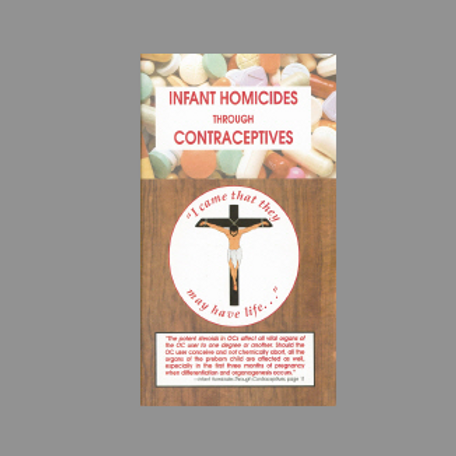 Infant Homicides...Contraceptives (Booklet) #0272