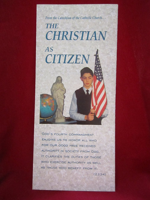 #1232 The Christian as Citizen (Pamphlet)