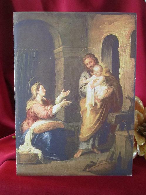 Holy Family Christmas Card #B2004