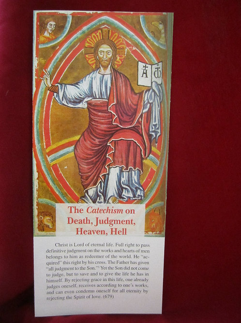 1219 Death, Judgment, Heaven & Hell (pamphlet)