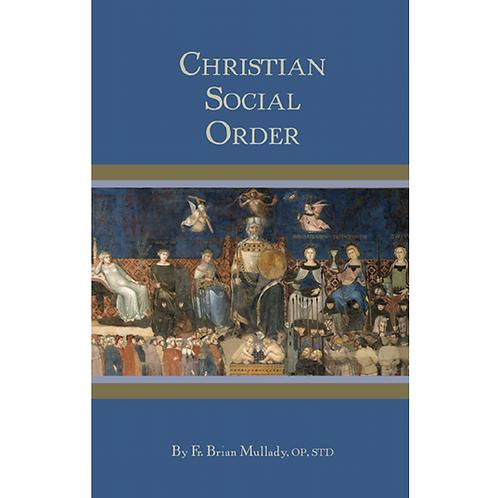 B3294 Christian Social Order (Book)