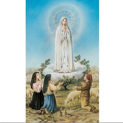 2114 Our Lady of Fatima Prayer Card