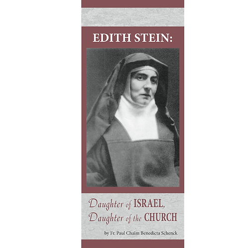 #4026 Edith Stein: Daughter of Israel (pamphlet)