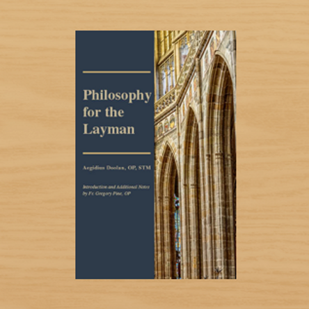 Philosophy for the Layman
