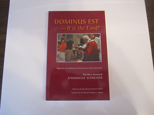 3411 Dominus Est: It is the Lord (Book)