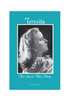 Teresita: Her Secret Was Mary (bklt) #B3089