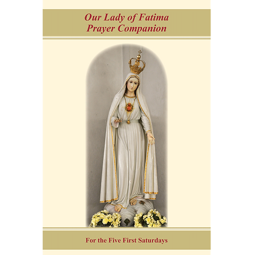 B3601 OL of Fatima Prayer Companion for the 5 First Saturdays