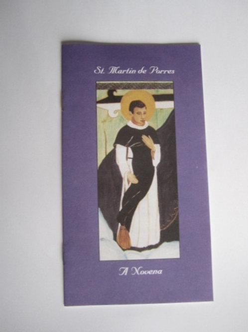 St. Martin de Porres: A Novena (Bklt) #B3006