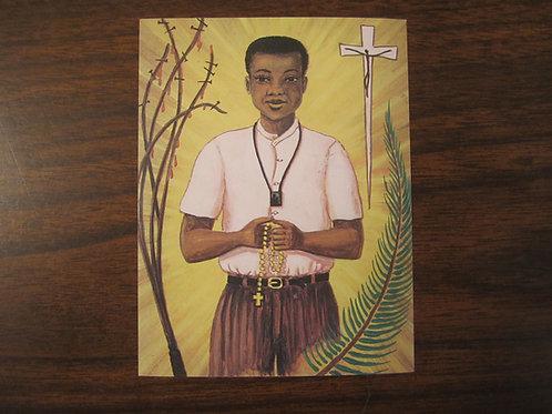 2115 Bl. Isidore Bakanja Prayer Card