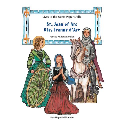 B2402 St. Joan of Arc Paper Dolls