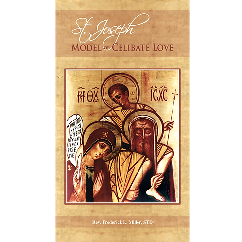 B3280 St. Joseph, Model of Celibate Love (bklt)