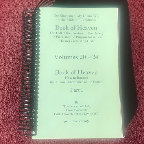 Book of Heaven Vols 20-24
