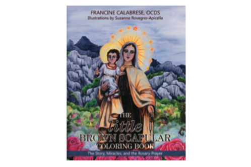 3444 The Little Brown Scapular Coloring Book