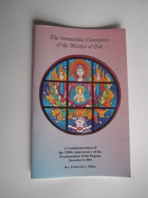 B3096The Immaculate Conception of the Mother of God  (booklet)