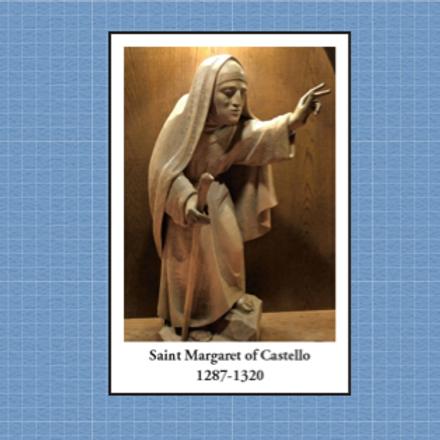 0538 St. Margaret of  Castello Prayer Card