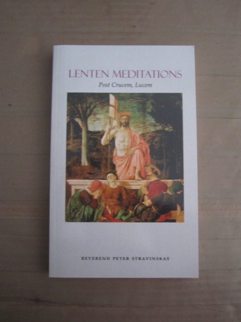 3271 Lenten Meditations (Book)