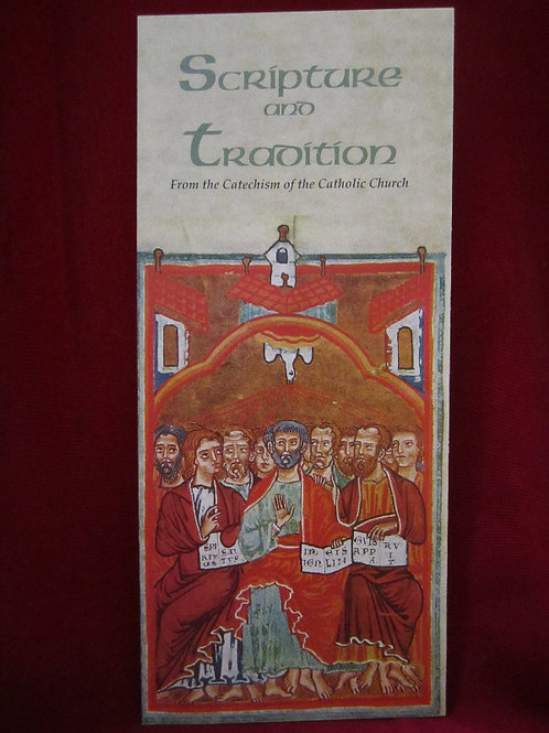 1234 Scripture and Tradition (pamphlet)