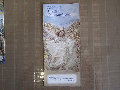 #1208, #1408 The Ten Commandments (Pamphlet)