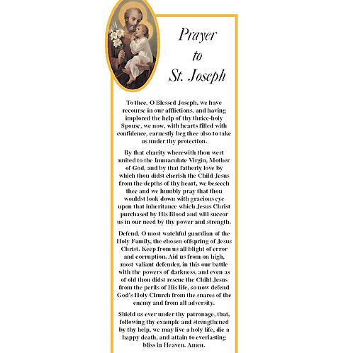 2148 Prayer to St. Joseph Bookmark