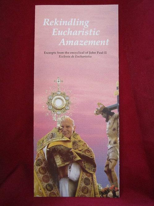 #1013 Rekindling Eucharistic Amazement (Pamphlet)