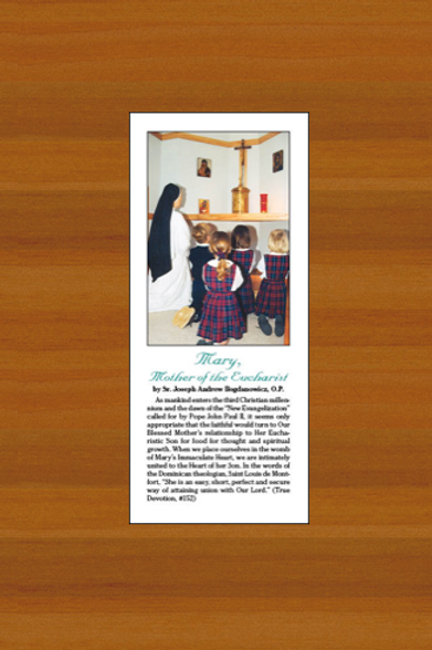 Mary, Mother of the Eucharist (pamphlet)
