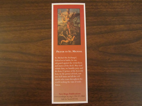 2144 Prayer to St. Michael Bookmark